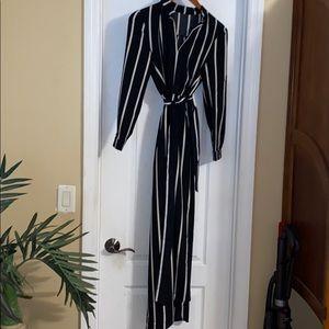 ASOS split maxi dress